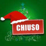 Chiusura per le festività natalizie