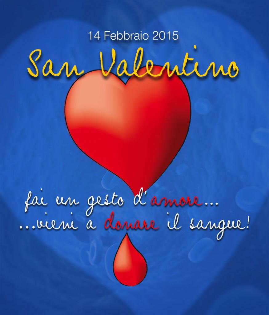 Dona il sangue a San Valentino